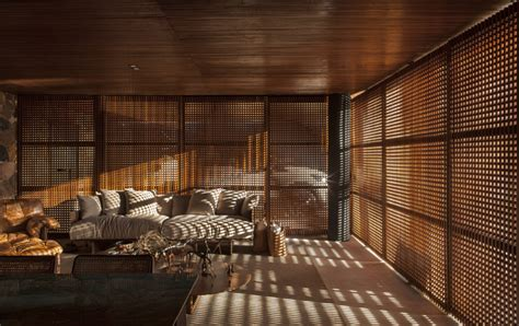 Fenster Sichtschutz Innen by Holzgitter Als Sichtschutz F 252 R Innen In Einem Luxushaus