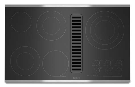 36 Electric Downdraft Cooktop bray scarff appliance kitchen specialist