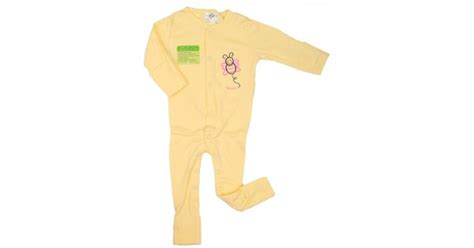 Sale Sleepsuit Bayi Murah Import Sz 3 6 9 12m Baby Sleepsuit Jual Murah Imochi Sleepsuit Panjang Yellow Butterfly