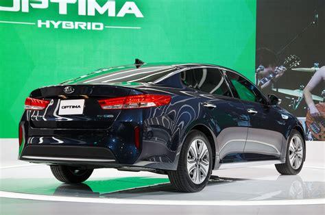 Hyundai Sonata Blind Spot Mirror 2017 Kia Optima Hybrid Brings Improved Efficiency New
