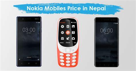 mobile phones list nokia mobiles price in nepal nokia phone models
