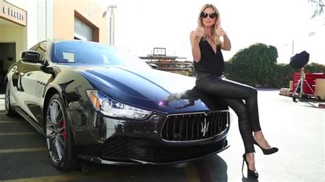 maserati woman maserati in 50th anniversary sports illustrated swimsuit