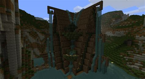 Elven based shrine house. Minecraft Project