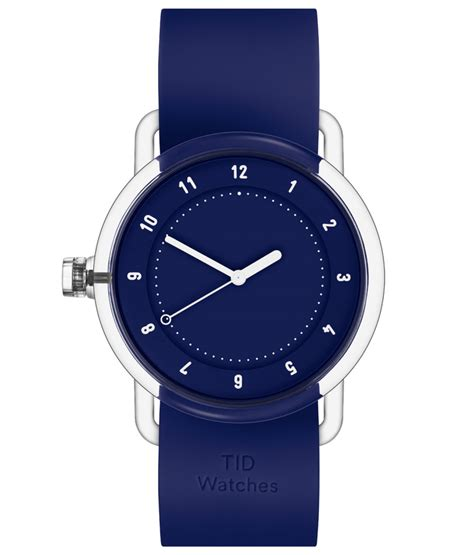 Design Milk Watches | tid watches launches no 3 with silicone strap and