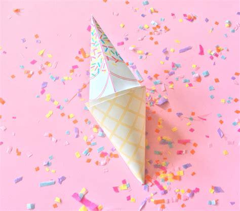 Cone Paper Craft - cone paper craft