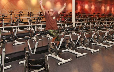 nutricin fitness la first steps from his wheelchair lead to a victory in cycling class living healthy