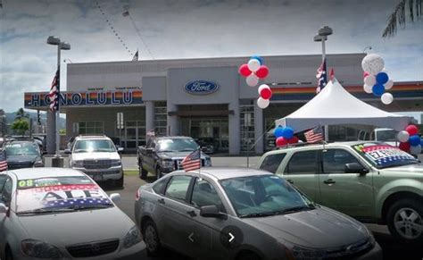 Honolulu Ford by Honolulu Ford Honolulu Hi 96817 Car Dealership And