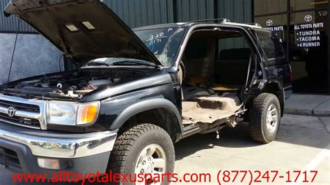 2000 Toyota 4runner Accessories Toyota 4 Runner 2000 Car For Parts