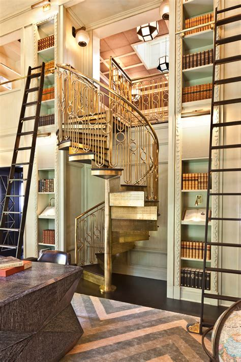 best options of intelligent bookcase with ladder and rail