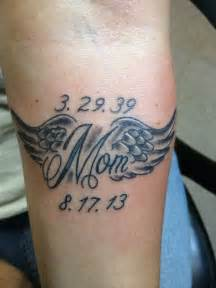 tattoo ideas in memory of mom tattoo that i just got in memory of my mom who just passed