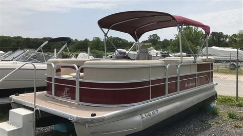 pontoon boat prices used used 2015 misty harbor pontoon boat for sale u58 youtube