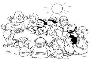 Jesus Sermon On The Mount Coloring Pages Coloring Pages