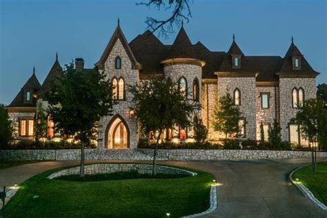 Texas Custom Patios Custom Castle Style Homes J Lambert Custom Homes
