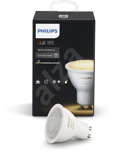Philips Lu Led 10 5w 4 Pcs philips hue white ambiance 5 5w gu10 led bulb alzashop