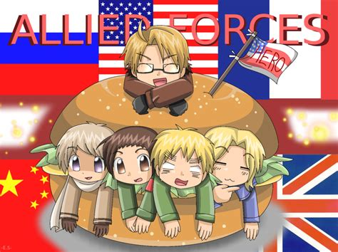 The Allies hetalia the allies images allies