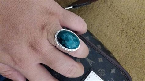 Batu Bacan Asli Plong by Gambar Cincin Yakut Gambarrrrrrr