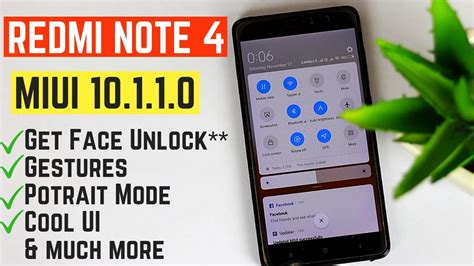 Miui 10 For Samsung Galaxy Note 4 by Redmi Note 4 Stable Miui 10 1 1 0 Update No Root Potrait Mode Gestures