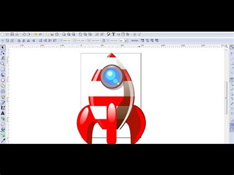 tutorial de como usar inkscape video tutorial de inkscape en espa 241 ol 7 dibujar un cohete
