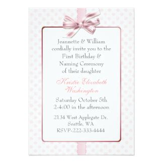invitation cards matter naming ceremony baby naming invitations announcements zazzle