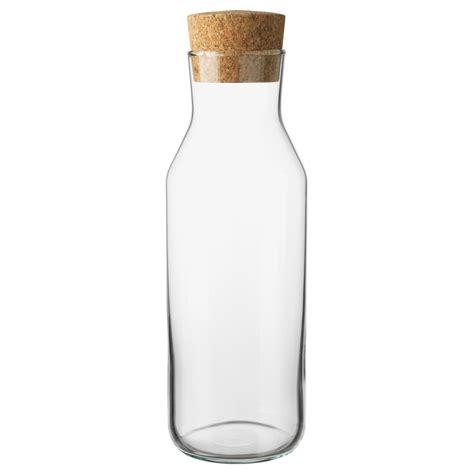 ikea korken glas ikea 365 carafe with stopper clear glass cork 1 l ikea