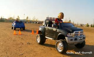 Truck Power Wheels Canada Power Wheels Tug Of War 1 Ford F 150 Vs Dodge Ram