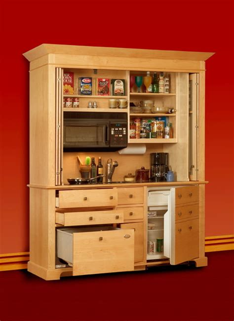 Kitchen Armoires by Unit Kitchen Is A Complete Freestanding Kitchen Modern
