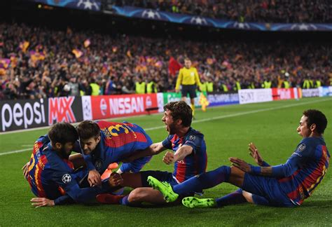 barcelona psg 6 1 is barcelona s incredible victory over psg the greatest