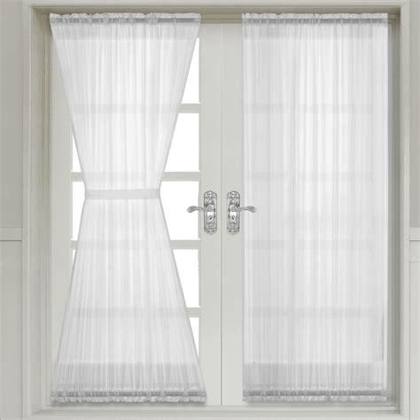 Sheer Door Curtains Sheer Door Panels Roselawnlutheran