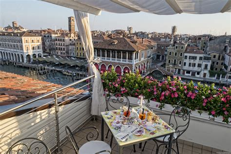 l alcova restaurant rooftop terrace venice hotel ca