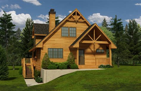 Floor Plans Small Cabins 3 Bedrm 1741 Sq Ft Craftsman House Plan 160 1018