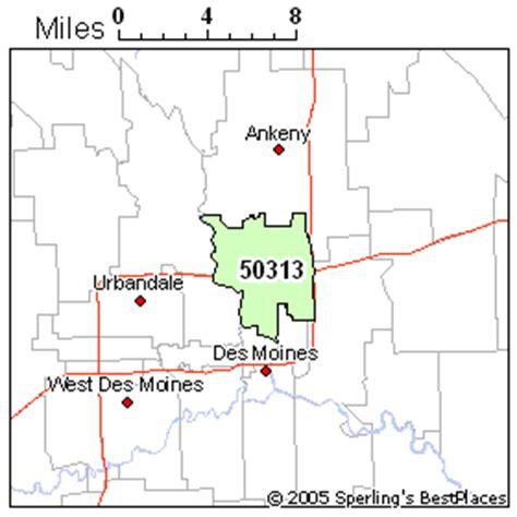 zip code map des moines best place to live in des moines zip 50313 iowa