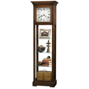 howard miller le floor clock display cabinet 611148