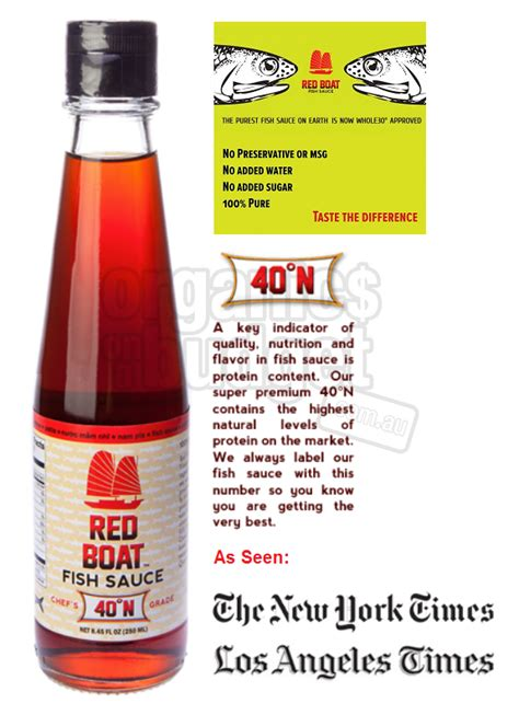 ingredients of red boat fish sauce love list may15 natural new age mum