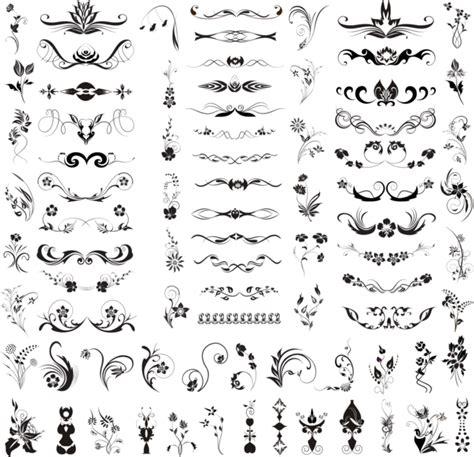 decorative design psd decorative elements psd official psds