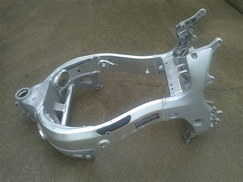 Suzuki Motorcycle Frames Suzuki Hayabusa Frame After Custom Metal Polishing