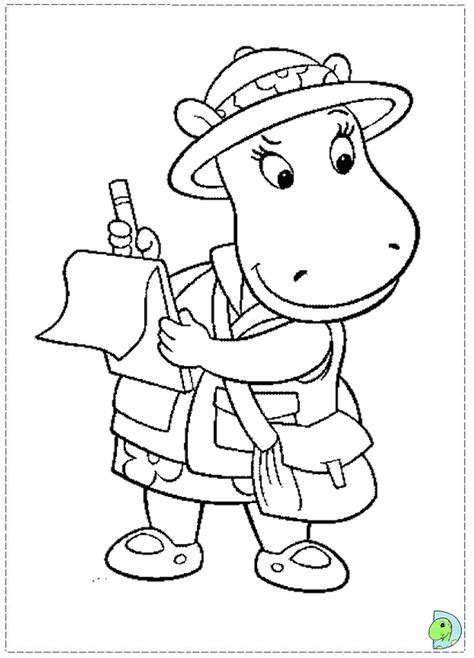 backyardigans halloween coloring pages backyardigans coloring pages print