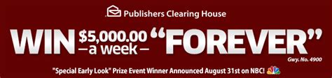 Pch Forever Prize - today is the deadline to enter to win the forever prize pch blog