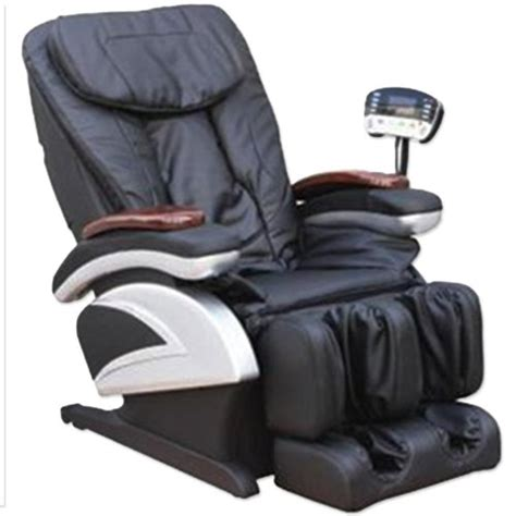 spa recliner chair black full body shiatsu massage recliner chair heater foot