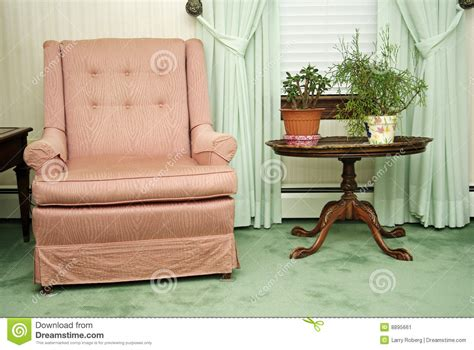 armchair in living room stock image image 8895661