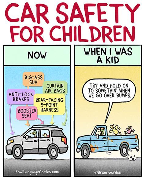 car safety car safety fowl language comics