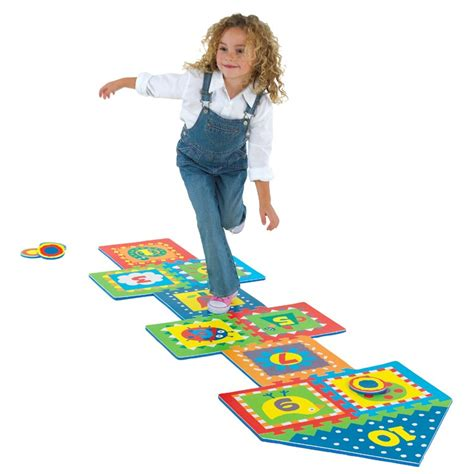 Hopscotch Foam Floor Mat by Hopscotch Indoor And Outdoor Play Set Educational Toys
