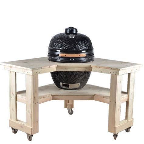 corner wooden kamado tablebusiness cooperation name grace