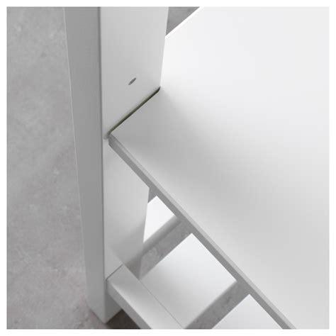 Hemnes Shelf White by Hemnes Shelving Unit White 42x172 Cm