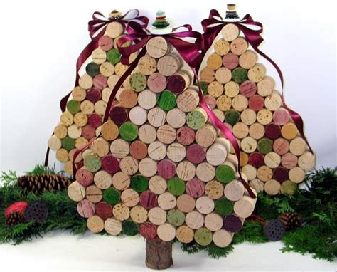wine cork christmas tree christmas pinterest