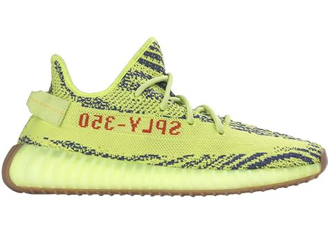 Adidas Yeezy Boost 350 V2 Yellow Frozen by Adidas Yeezy Boost 350 V2 Semi Frozen Yellow