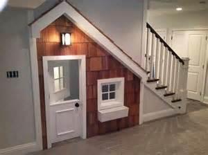 Under Stairs kids indoor playhouse under stairs home design garden