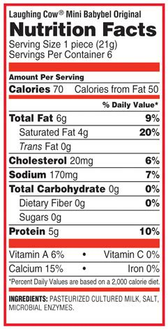 babybel light cheese calories mini babybel original nutritional information products i