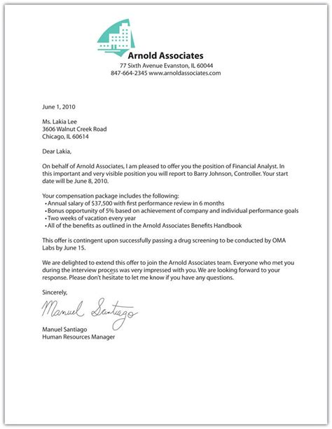 appointment letter format for nurses printable sle offer letter sle form laywers