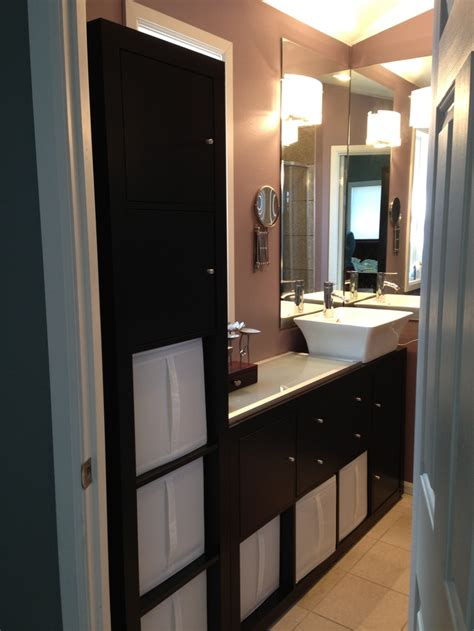 ikea kitchen cabinets in bathroom tight bathroom vanity ikea expedit shelves 8 shelf