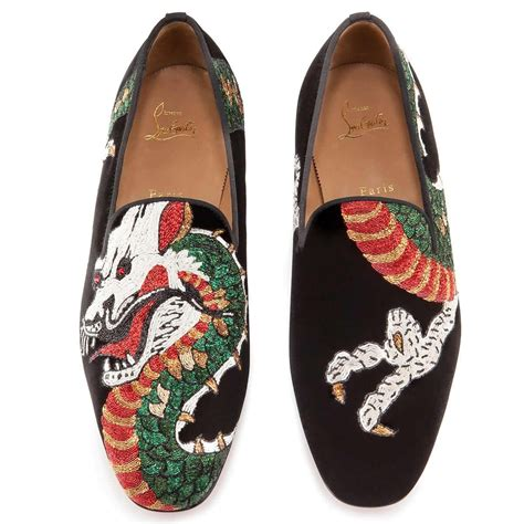 flats tattoo shoes henri flat christian louboutin